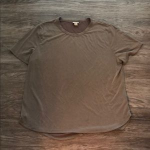A New Day Brownish Gray Tee